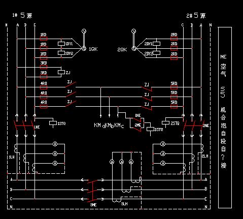 电气图纸 - 土木工程