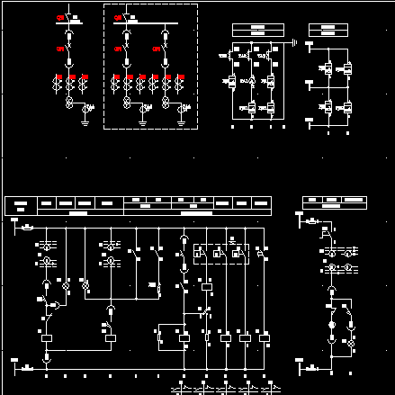 35/6~10kv变压器二次电路图