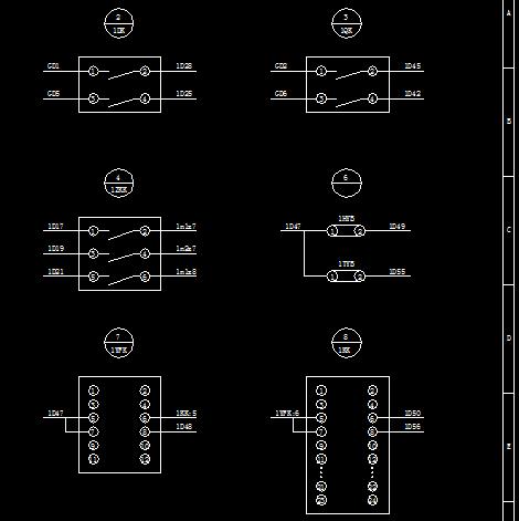 电动机保护测控装置电气设计图