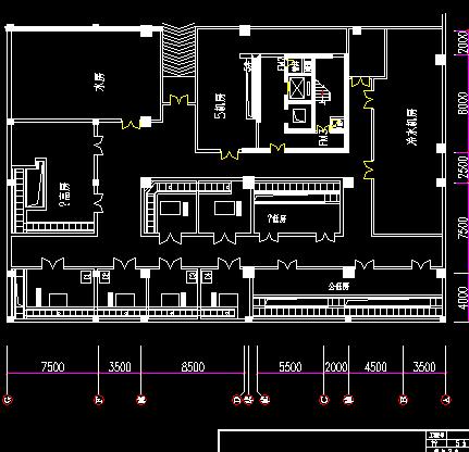 配电房高低压配电系统图