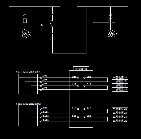 PT平行装置电气设计图免费下载切换绘制线如何构造图片