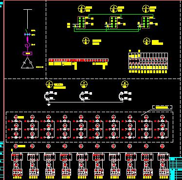 12路电容柜原理图及接线图