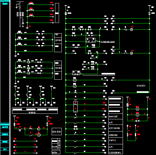 10kv高压柜二次接线图