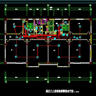低压配电室制氧燃气锅炉电气原理图