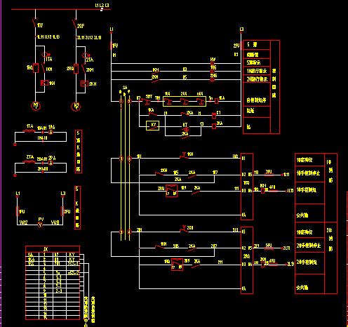 软启动器运用原理接线图例