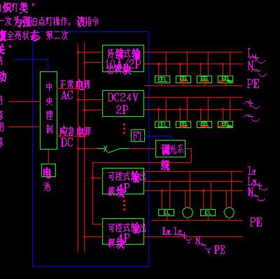 智能家居控制系统电力设计图图片