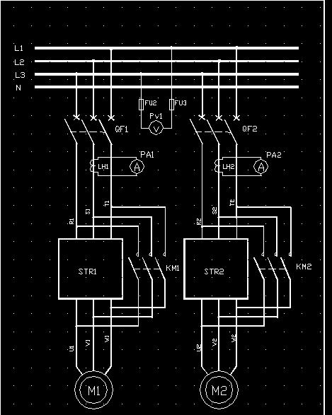 软启动器应用接线图集