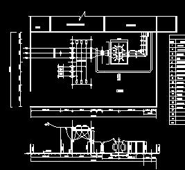 小水电站机电初步设计图纸