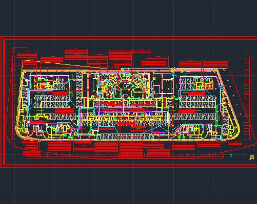 203米超高层甲级写字楼强电系统施工图纸