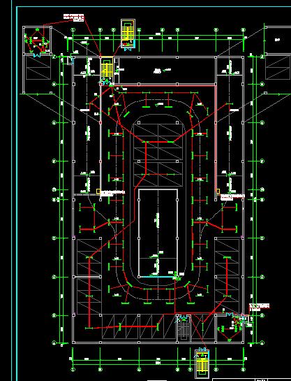某小区地下车库电气施工图纸