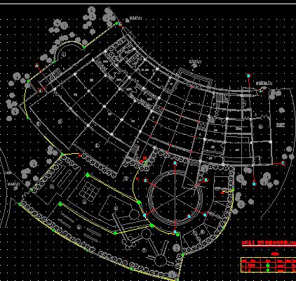 寺庙宫殿建筑图设计图纸