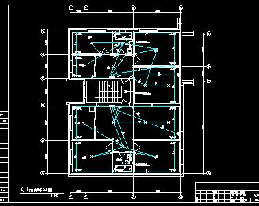十五层住宅楼配电系统施工图纸