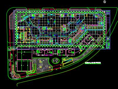 购物中心电气施工图(含消防)