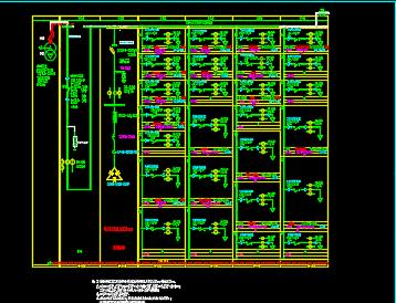 综合实验实训楼电气施工图纸
