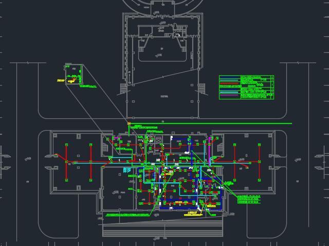 某学校全套电气施工图