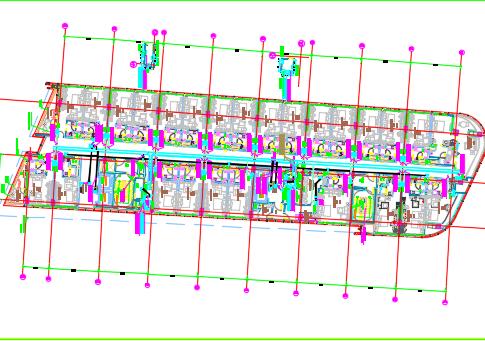 某八层商业楼电气施工图纸