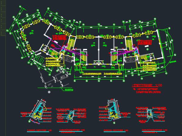 十九层住宅楼电气施工图