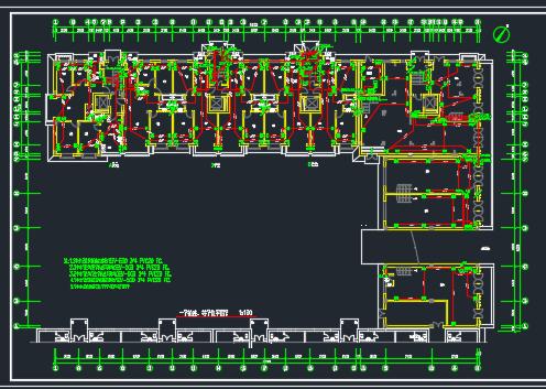 框架结构住宅楼电气施工图