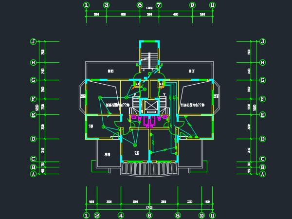 十一层住宅楼电气施工图
