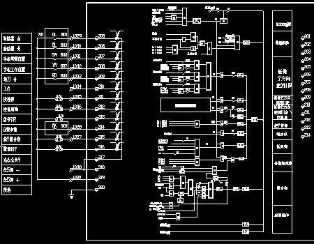 10KV开闭所模拟屏做法设计图免费下载-图纸地面电气工程罐区图片