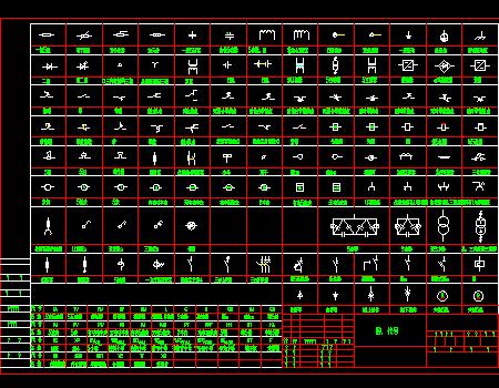电气v电气标准图纸CAD图块免费下载-常用电气天正t3显示后转不图纸完整图片
