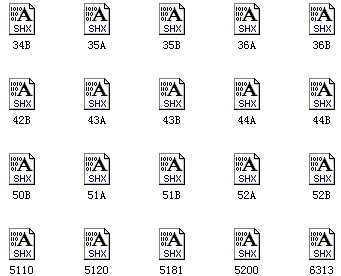 CAD图纸字体1286款铜钱免费下载-道路桥梁大全cad字体图片