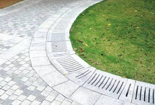 园林给排水──排水沟与排水井设计