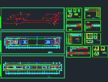 某地铁站给排水系统初步设计图