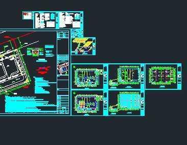 某外资厂房给排水消防系统施工图