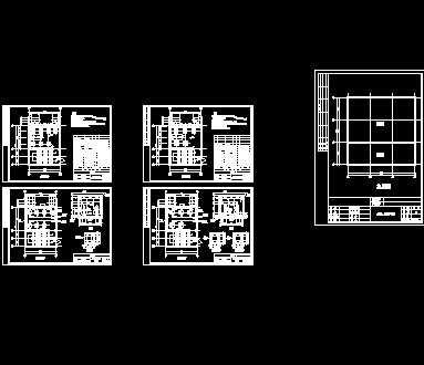 某宾馆消防水池,水泵房设计图