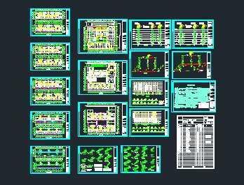某住宅区给排水系统设计图