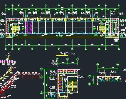 某厂房宿舍楼给排水消防系统设计图
