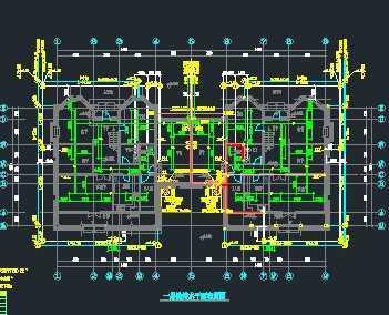 木结构别墅给排水系统施工图免费下载