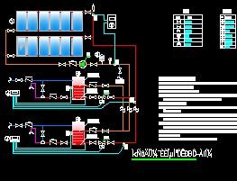 太阳能集热施工图