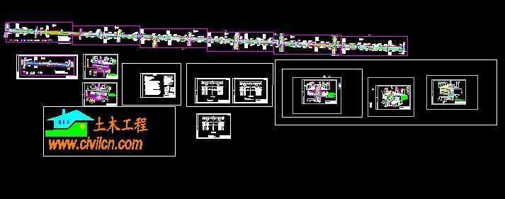 市政道路管线综合图