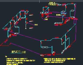 某别墅水暖系统施工图