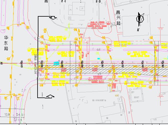 某市政工程道路及下水道工程施工图纸
