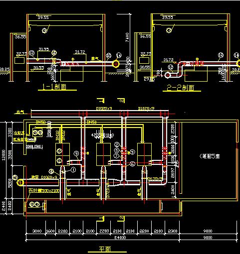 某污水厂污水处理施工图