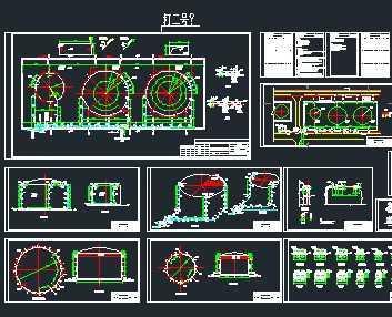 某化工厂甲醇罐区泡沫消防系统设计图