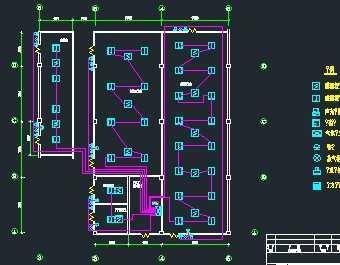 某变配电房七氟丙烷气体灭火系统设计图