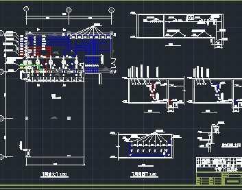 小区地下车库消防系统设计图免费下载