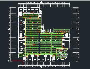 某五层商住楼消防给排水系统设计图