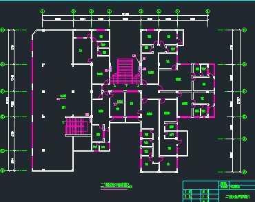 某九层商住楼消防给排水系统图