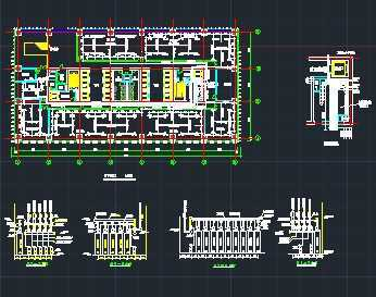 某工程七氟丙烷气体灭火系统施工图