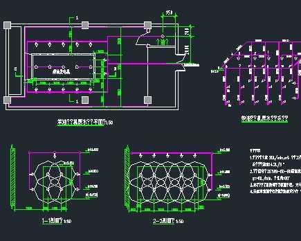 某柴油发电机房水喷雾自动灭火系统设计图