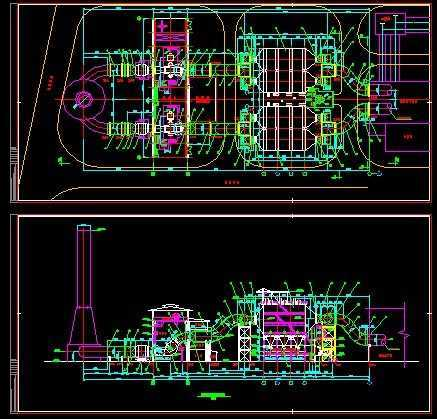 钢铁厂抽风机主烧结电除尘论坛设计图水晶石室内设计系统图片