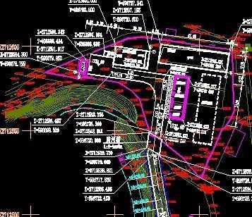 污水处理厂平面图