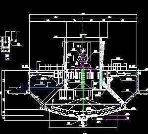 机械加速澄清池施工图纸