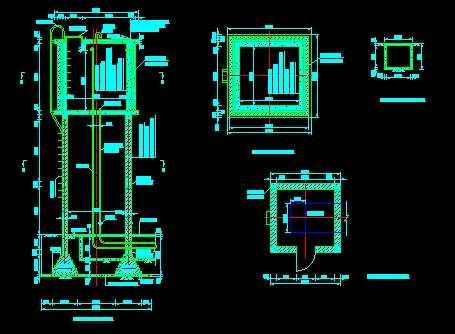 某区水塔施工设计图免费下载