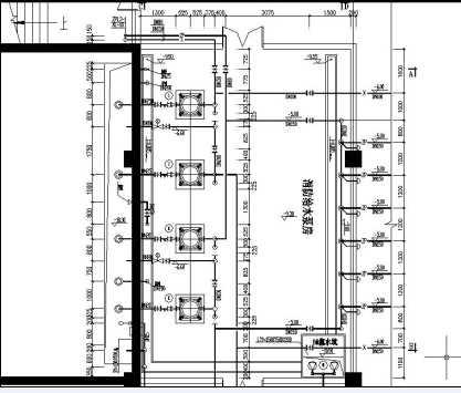 标准生活消防泵房设计施工图